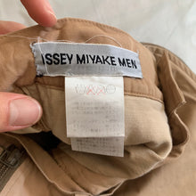 Load image into Gallery viewer, aw1999 Issey Miyake Baggy Front Zipper Cargos - Size M