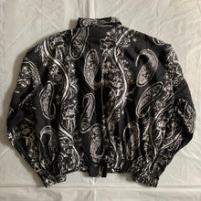 Load image into Gallery viewer, ss1996 Issey Miyake Light Cropped Paisley Jacket with Layered Pocket Details - Size M
