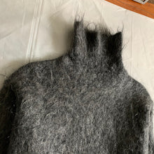 Load image into Gallery viewer, 1990s Yohji Yamamoto Grey Mohair Turtleneck - Size M
