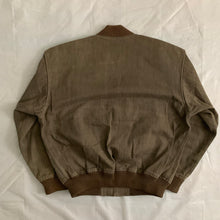 Load image into Gallery viewer, 1980s CDGH Tan Bomber Jacket - Size L