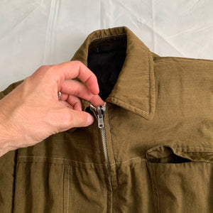 ss1999 CDGH+ Reversible Olive Work Jacket with Frill Lining - Size M
