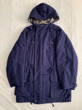 Load image into Gallery viewer, 1990s Katharine Hamnett Navy Parka - Size M