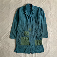 Load image into Gallery viewer, 1970s Vintage French Patched Long Work Jacket - Size M