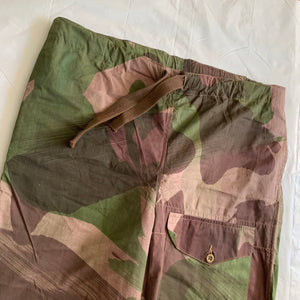 1940s Vintage WW2 British SAS Brush Camo Pants - Size XXL