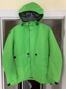 ss2005 Junya Watanabe x Goretex x Goldwin Slime Green Convertible Bag Jacket - Size S