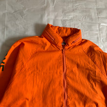 Load image into Gallery viewer, ss2002 Junya Watanabe Orange Poem Windbreaker Jacket - Size M
