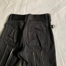 Load image into Gallery viewer, ss2002 General Research Cotton Satin Bondage Pants with Zippers - Size S