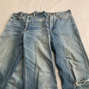 1990s CDGH Faded Vintage White Label Denim - Size S