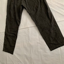 Load image into Gallery viewer, ss2000 Issey Miyake Washed Black Lounge Pants with Elastic Waistband - Size OS