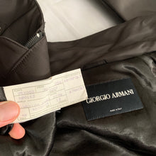 Load image into Gallery viewer, 2000s Armani High Neck Cropped Panelled Jacket - Size L