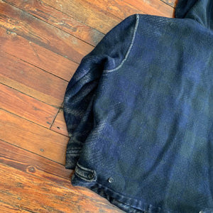 1980s CDGH Faded Hooded Worker Jacket - Size XL