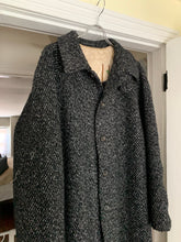 "Load image into Gallery viewer, aw1995 Yohji Yamamoto Rokumeikan ""Deer Cry Pavilion"" Lined Reversible Knitted Robe Overcoat - Size OS"