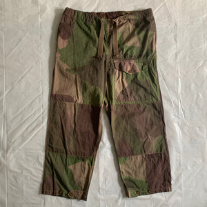 1940s Vintage WW2 British SAS Brushed Camo Cargo Pants - Size XL