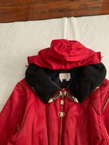 1990s Armani Pillow Neck Bondage Jacket with Removable Sleeves - Size XL