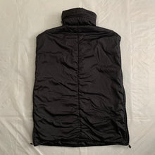 Load image into Gallery viewer, 1990s Armani Oversized Nylon High Neck Vest / Poncho - XL