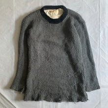 Load image into Gallery viewer, 1999 CDGH Layered Mesh Knit Sweater - Size L