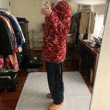 Load image into Gallery viewer, aw2002 Yohji Yamamoto Oversized Red Textured Silk Knit - Size XL