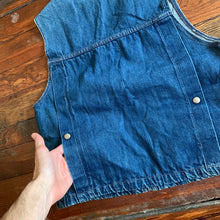 Load image into Gallery viewer, 1990s Armani Denim Vest - Size S