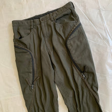 Load image into Gallery viewer, aw2000 Issey Miyake Khaki Hidden Cargo Pants - Size M