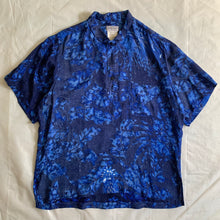 Load image into Gallery viewer, ss1985 Yohji Yamamoto Oversized Rayonne Rooster Polo - Size XL