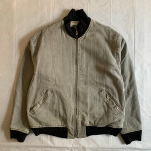 1990s Goodenough Faded Grey Worker Jacket - Size M