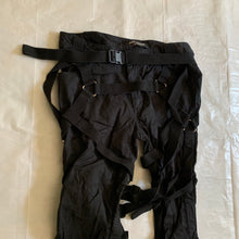 Load image into Gallery viewer, ss2003 Junya Watanabe Black Bondage Pants - Size S