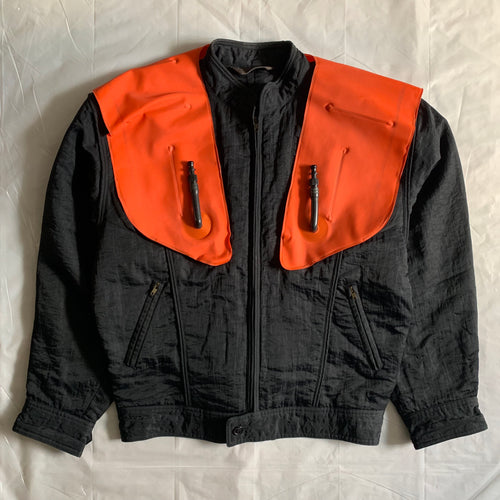 aw1985 Issey Miyake Inflatable Life Preserver Bomber Jacket - Size XL