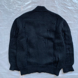 1980s CDGH Destroyed Cardigan - Size OS