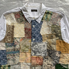 Load image into Gallery viewer, ss2000 CDGH+ Gobelin Tapestry Patchwork Shirt - Size OS