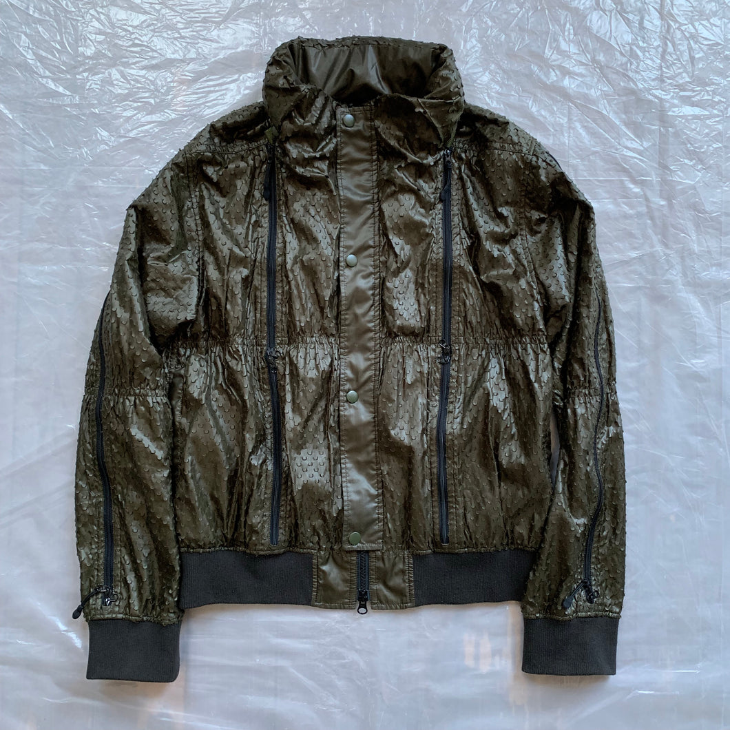 1990s Final Home Sample Perforated Survival Bomber - Size M