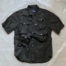 Load image into Gallery viewer, ss2005 Junya Watanabe Cotton Fisherman Cargo Shirt - Size M (Black)