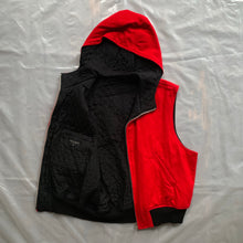 Load image into Gallery viewer, 1989 CDGH+ Reversible Hooded Vest - Size M