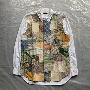 ss2000 CDGH+ Gobelin Tapestry Patchwork Shirt - Size OS