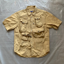 Load image into Gallery viewer, ss2005 Junya Watanabe Cotton Fisherman Cargo Shirt - Size M (Beige)
