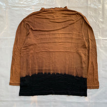 Load image into Gallery viewer, aw1993 CDGH+ Black, Tan and Brown Bleach Dye Shirt - Size OS