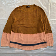 Load image into Gallery viewer, aw1993 CDGH+ Brown and Pink Bleach Dye Knit - Size OS