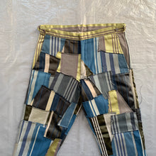 Load image into Gallery viewer, ss2000 CDGH+ Striped Tapestry Patchwork Trouser - Size L