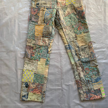 Load image into Gallery viewer, ss2000 CDGH+ Gobelin Tapestry Patchwork Pants - Size S