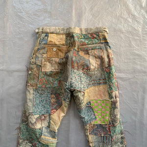 ss2000 CDGH+ Gobelin Tapestry Patchwork Pants - Size S