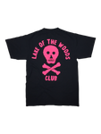 SS - BLACK w PINK PRINT - Lake of the Woods Club
