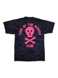 SS - PURPLE TIE DYE w PINK PRINT - Lake of the Woods Club