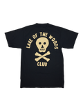 SS - BLACK w CREAM PRINT - Lake of the Woods Club
