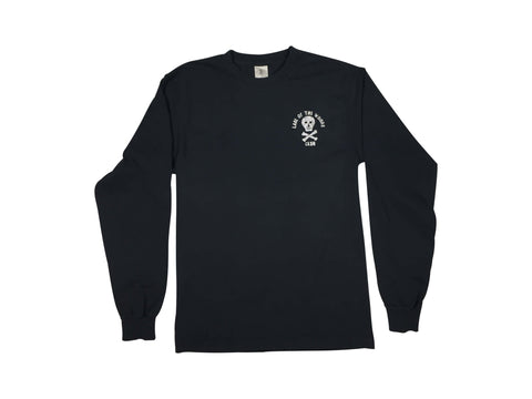 LOTWC LS - BLACK w GLITTER PRINT - Lake of the Woods Club