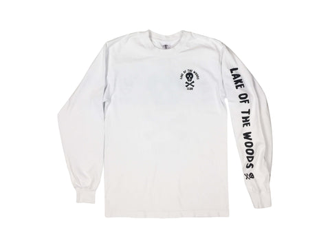 LOTWC LS - WHITE w BLACK PRINT - Lake of the Woods Club