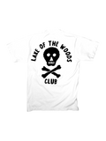 SS - WHITE w BLACK PRINT - Lake of the Woods Club