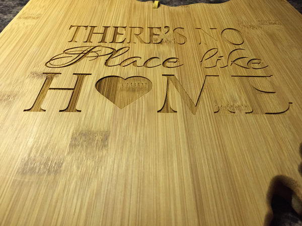 Ohio State Shape Cutting Board. Engraved Realtor Gift. - C & A Engraving and Gifts