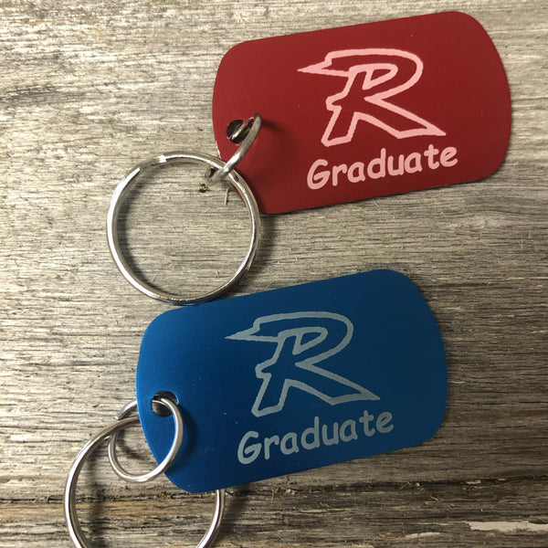 Graduate Key Chains. Senior Gift. Graduation Key Chain. - C & A Engraving and Gifts