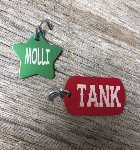 Personalized Dog Tags. Pet ID Tags. Lost Pet Tag. - C & A Engraving and Gifts