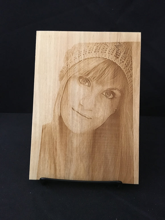 Photo Engraved Wooden Board