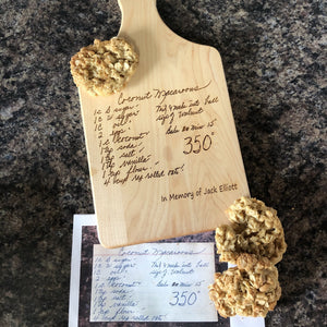 Photo Engraved Recipe Cutting Board. Grandma's Handwritten Recipe Cutting Board. - C & A Engraving and Gifts